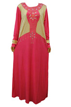 Malaysia Indonesia gown robe dubai New Women's Elegant Maxi Long Dress Kaftan Jilbab Islamic Abaya Muslim Cocktail