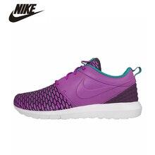 NIKE ROSHE NM FLYKNIT PRM Original Men's Running Shoes Sport Shoes Nike Roshe Run Sneakers For Men #746825-500