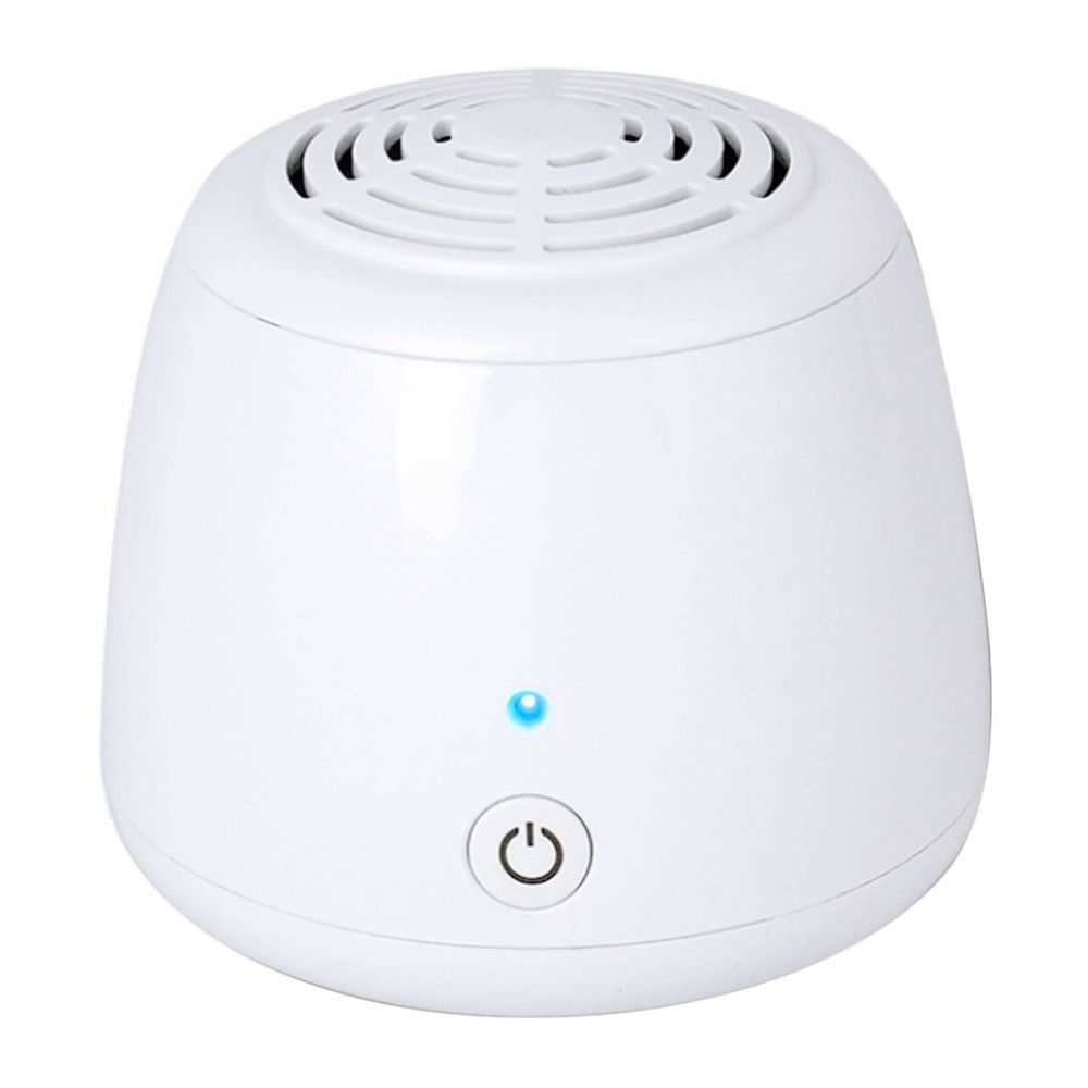 Small Size Electric Air Cleaner Sterilizer Ozone Generator Ozonator ionizer DC5V Refrigerator Air Purifiers Freezer Deodorizer