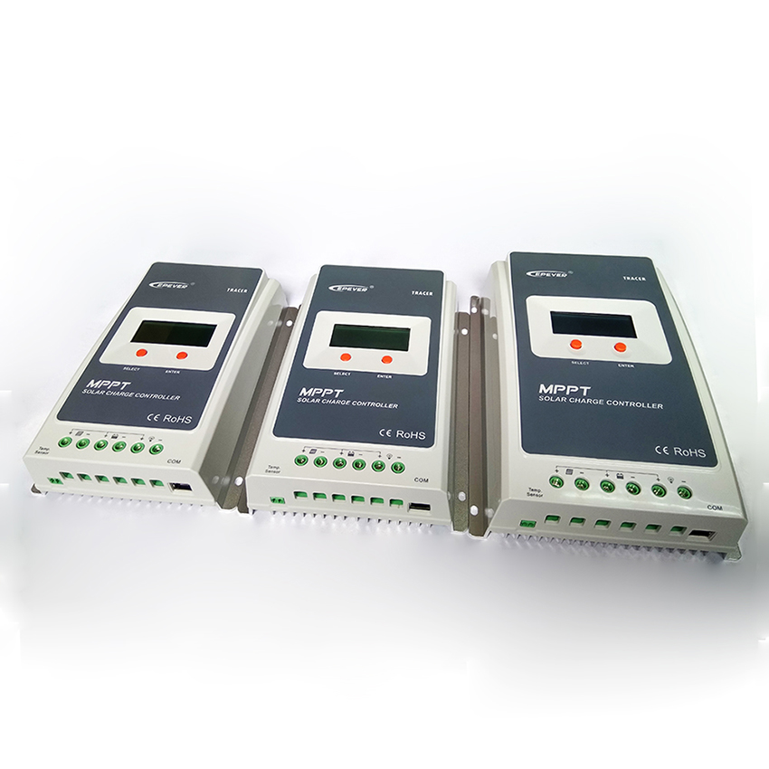 MAYLAR@ RS485 20A Tracer MPPT Solar Charger Controller 12V 24V Auto Switch LCD Solar Regulator MAX PV 100V maylar 12v 24v auto wind