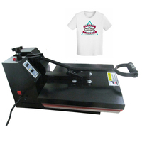RB US38 Hight Pressure 15x15 Inches T shirt Printing Machine Sublimation Heat Press Machine Cloth Bag Case Puzzle Glass Wood