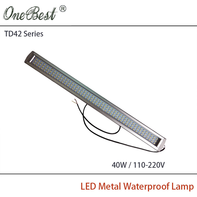 HNTD 40W TD42 110V-220V Led Metal Panel Light CNC Machine Tool Waterproof IP67 Explosion-proof Led Work Light