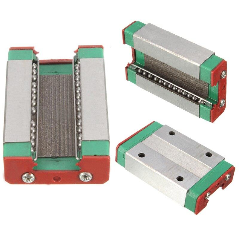 1 pz Acciaio del Cuscinetto Scorrevole Blocco Per Guida Lineare MGN12H CNC XYZ DIY 43*26*10mm
