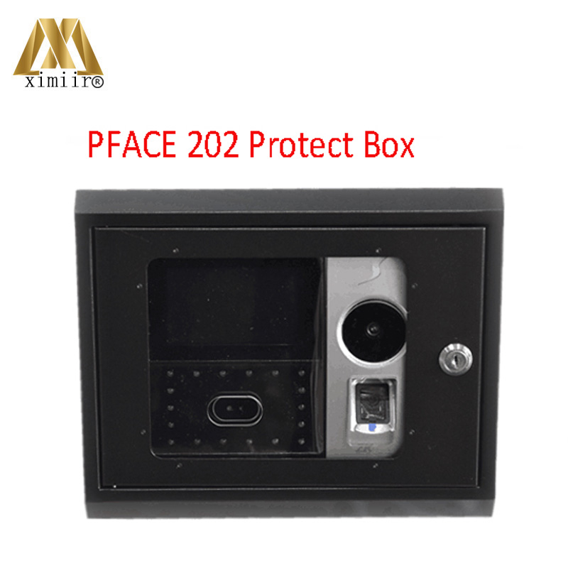 PFA01 Protect Box For Pface 202 Palm Scanner Time Attendance Face Time Attendance Metal Box With Key Safety Cover PFA01 Protect Box For Pface 202 Palm Scanner Time Attendance Face Time Attendance Metal Box With Key Safety Cover