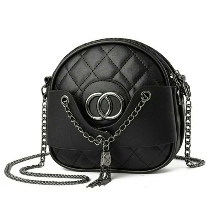 Crossbody Bags for Women Chains Tassel CC Brand Diamond Lattice Mini Single Bag
