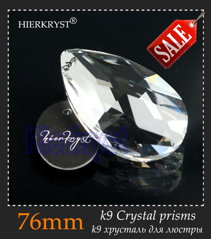hierkyst 5 pcs vidro k9 de cristal prismas pingente lustres pecas lustres lampada do arco