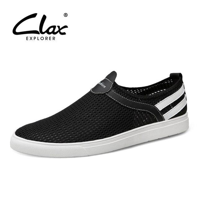 Clax Сетки Обуви Мужчины 2017 Летняя Обувь для Мужчин Дышащий Повседневная Обувь Для Ходьбы Удобные