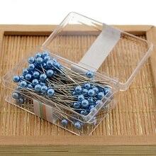 Поделки из жемчуга, булавки, сделай сам, приукрашивают платье, делая швейные инструменты, профессиональная коробка упакована