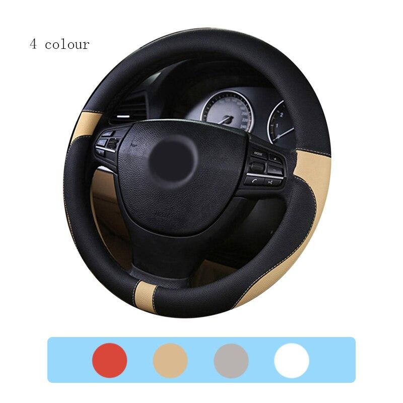 3D Sport Car Steering Wheels Covers Steering Wheel Hubs Car Styling Steering-wheel For BMW Audi Honda Ford CRV All Car Sedan carking diy abs steering wheel covers stickers for bmw mini cooper red blue multi color