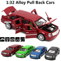 1:32 alloy pull back cars,Cadillac high simulation model,metal diecasts,toy vehicles,pull back&flashing & musical, free shipping