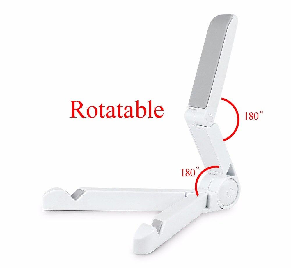 Складной планшет большой экран телефон держатель мини стенд кронштейн 10 дюймов для ipad samsung htc huawei держатель и т. д