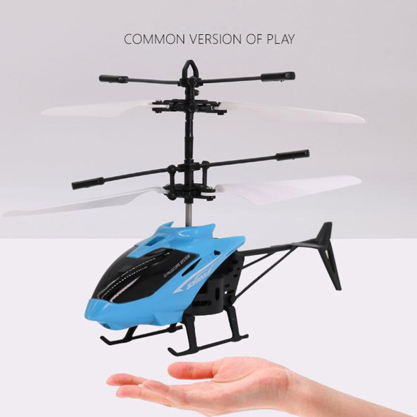 rc Helicópteros aeronave helicóptero infraed luz intermitente Modo de Controlador : Modo2