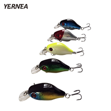 Yernea 5pcs/Lot 7.5g Fishing Lures Hard Bait Tackle Pesca Crankbait Artificial Lifelike Lures Carp Fishing Minnow Wobblers