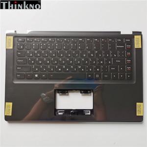 Nowość w Lenovo Yoga 2 13 Yoga2-13 czarna obudowa C nowa podpórka na nadgarstek czarna górna obudowa z podświetlana klawiatura Bezel RUS ITA
