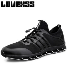 LOVEXSS Fall2017 Fly Cushioning Running Shoes For Men Breathable Sport Shoes Man Brand Outdoor Athletic Jogging Men's Sneakers