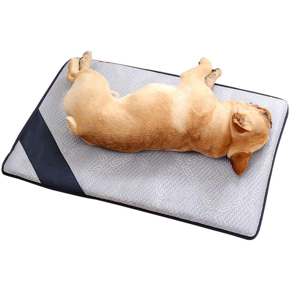 ペット夏の非毒性クールパッドベッド冷却肌寒いマット犬猫熱救済マット若者販売