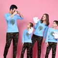 1 Piece Family Matching Clothes Print Tree T Shirts 9 Colors Autumn Family Matching Outfits Father & Mother & Kids Family Look