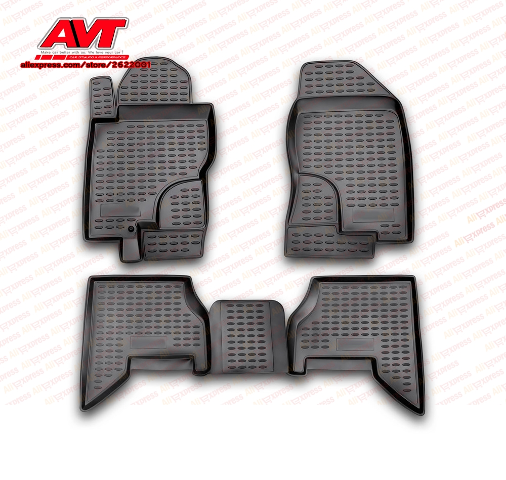 Floor mats for Nissan Pathfinder 2005-2010 4 pcs rubber rugs non slip rubber interior car styling accessoriesFloor mats for Nissan Pathfinder 2005-2010 4 pcs rubber rugs non slip rubber interior car styling accessories