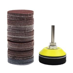 Image 4 - 2 inch 100PCS Sanding Discs Pad Kit for Drill Grinder Rotary Tools with Backer Plate 1/4inch Shank Includes 80 3000 Grit Sandpap