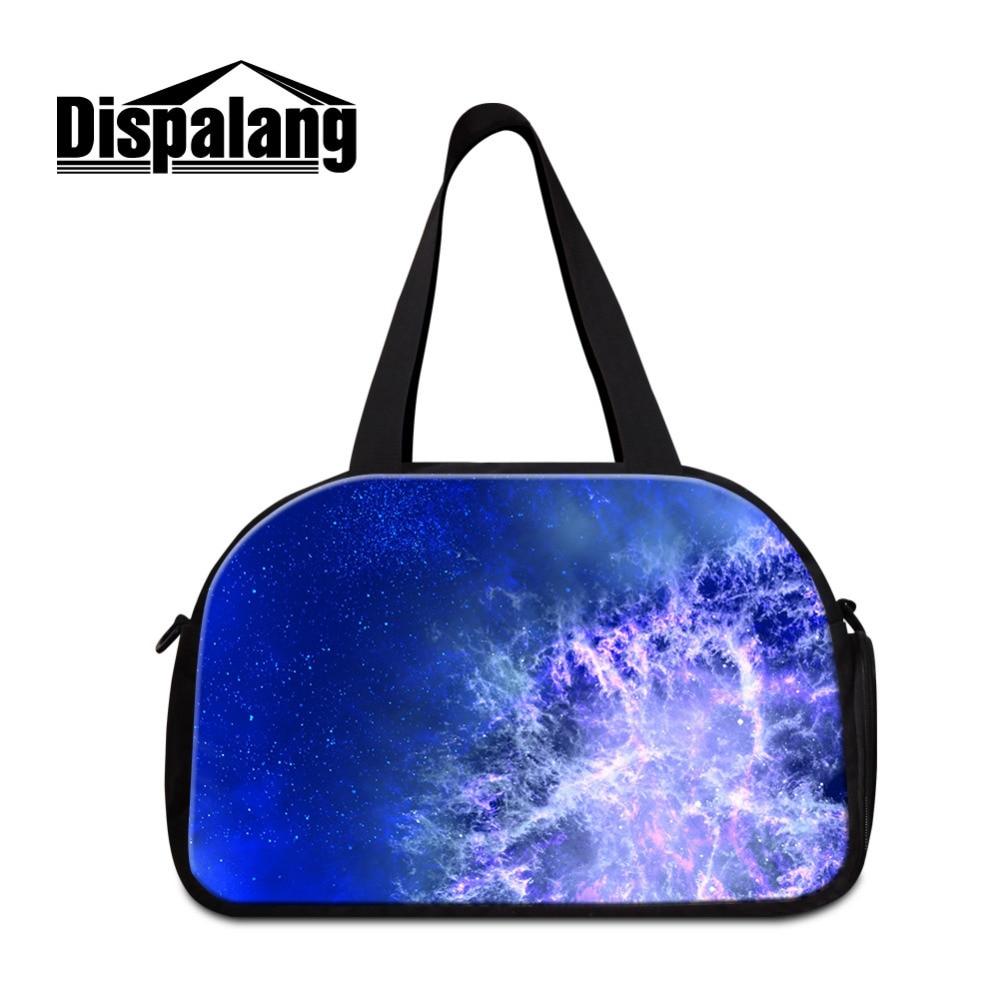 Dispalang Вселенной Galaxy Для женщин Дорожная сумка Обувь хранения больших Ёмкость Для  ...