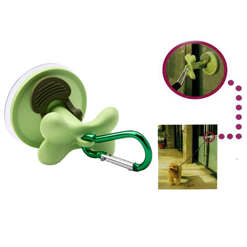 Pet Leashes Suction Cups Wash Tub Restraint Suction Cup Hook Dog Supplies Pet Suction Tool-Outdoor Dog Parking