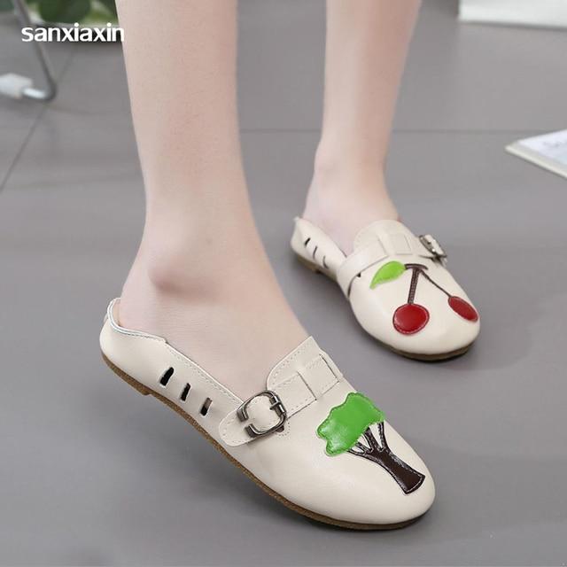 Nuevos zapatillas limpio quirúrgico sandalias de habitación zapatos enfermera antideslizantes playa hoyo
