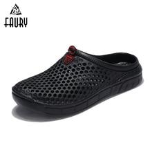 Men Women Couple Work Shoes Breathable Soft Hole Shoes Soft Casual Anti slip Chef Kitchen Footwear Sandals Flip Flop