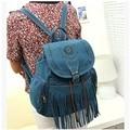 Novas Mulheres chegada saco de Borla mochila Mochila Casuais Bolsa Escola Bolsa Bolsa Franja retro Satchel viagens XD3597