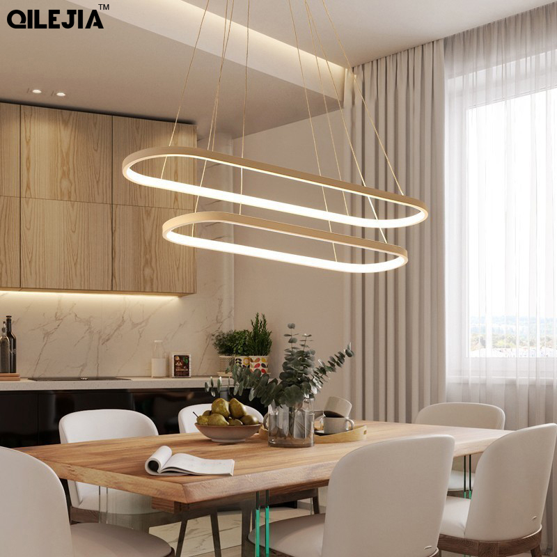 Rectangle Modern Led Pendant Lamps for Living Room Restaurant Bedroom Decorative Pendant Light Lamparas AC85-260V remote controlRectangle Modern Led Pendant Lamps for Living Room Restaurant Bedroom Decorative Pendant Light Lamparas AC85-260V remote control