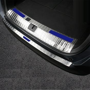 Auto Pannelli Baule Posteriore Del Piede Pedale Automobile Cromo Decorativo Car Styling Protecter Sticker Striscia di 18 PER Chevrolet Orlando