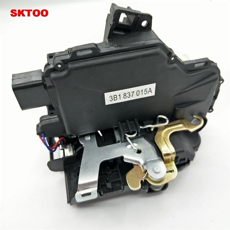 SKTOO for Volkswagen doors Door Lock Unit Module For vw Passat B5 Golf 4 MK4 Jetta MK4 Bora 3B1 837 015A