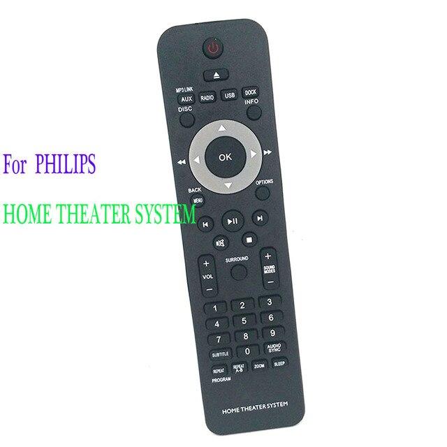 Nowy pilot zdalnego sterowania dla Philips system kina domowego HTS3367/05 pilot zdalnego Controle Fernbedienung