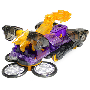 Image 3 - Newest Screechers Wild Multiple Chip Capture Wafer 360 degree Flipping Deformation Action Figures Transformation Car Vehicle Toy