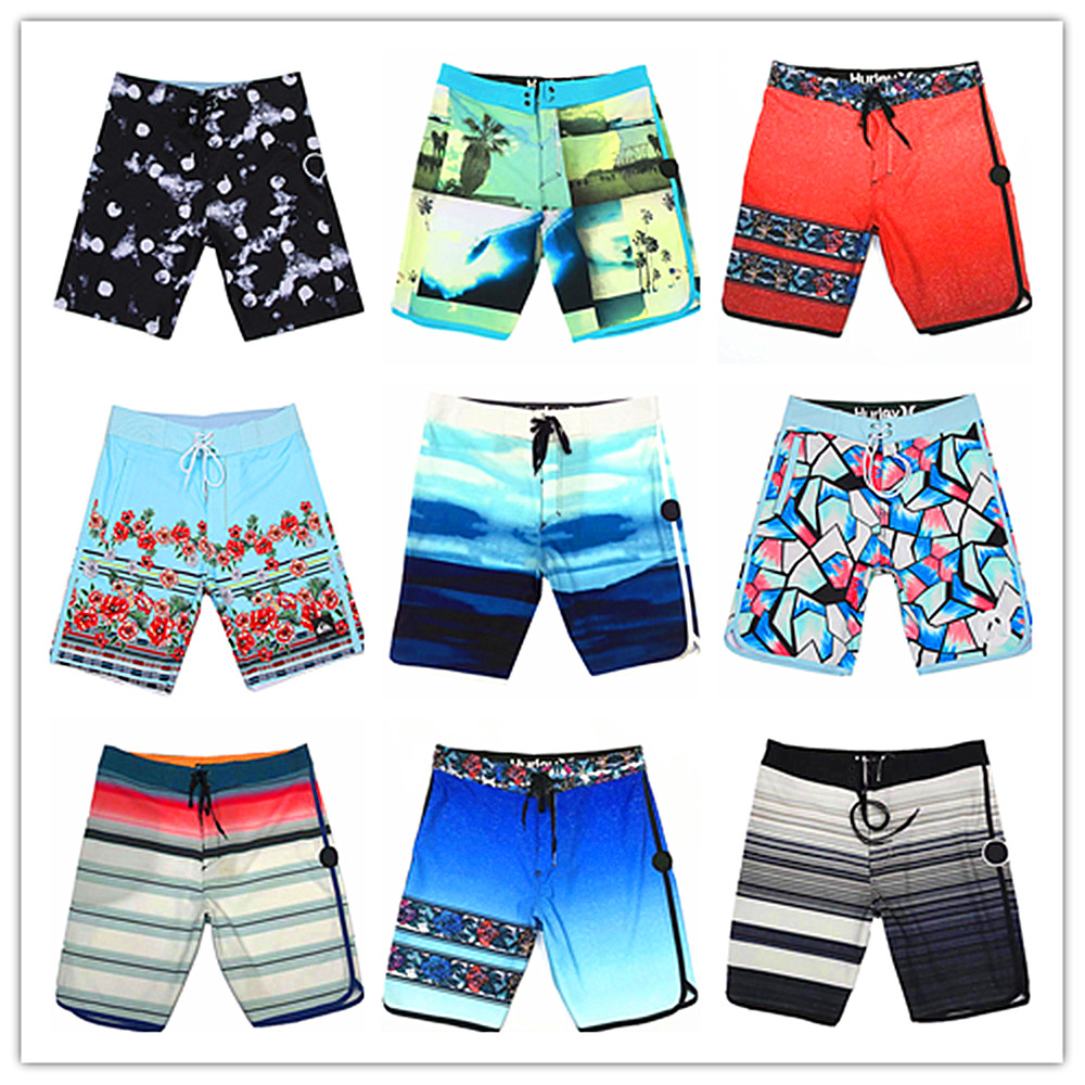 2019 Mens Sports Shorts Couple Lovers Summer Drawstring Stylish Floral Printed Beach Shorts For Men Loose Quick-dry Short Pants Men's Clothing