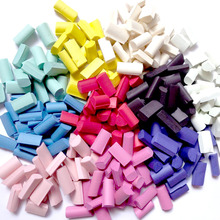 Toys Fluffy Slime Filler Sponge Strip Toy DIY Foam Chunks Supplies Accessories Beads Kit Plasticine Gum Adults 70pcs