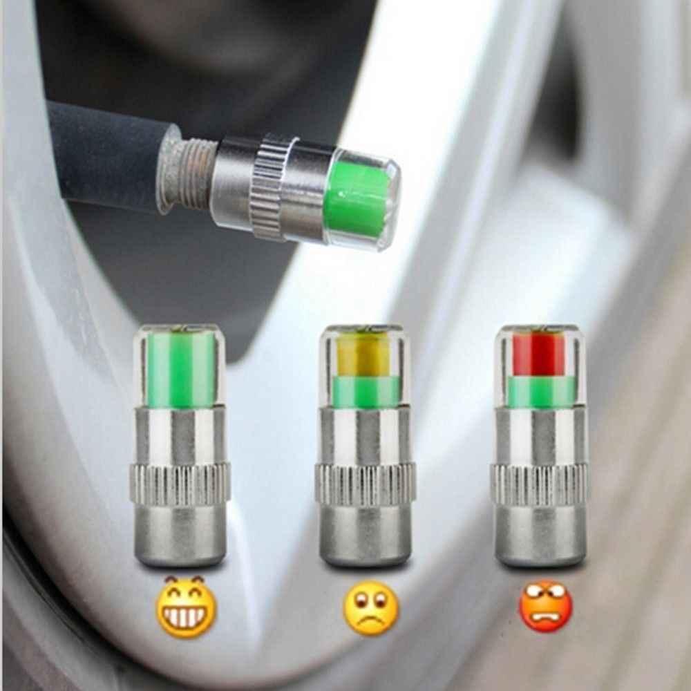 タイヤ空気圧モニター外部車の警告タイヤ圧力側タイヤ圧力検出キャップ可視タイヤバルブ警告表示キャップ