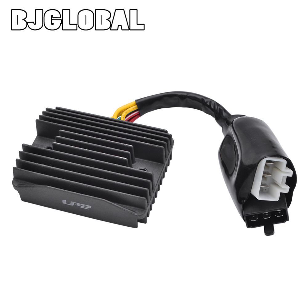 12V Voltage Motorcycle Boat Regulator Rectifier For Honda VFR <font><b>800</b></font> FiY Fi 1 2 <font><b>3</b></font> 4 5 6 <font><b>7</b></font> VFR <font><b>800</b></font> A2 A3 A4 A5 Scooter Moped Motor image