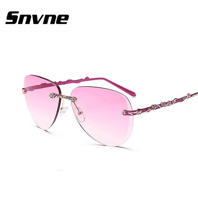 db1a8c5611 Snvne sans monture de lunettes de soleil hommes femmes marque lentes oculos  gafas de sol feminino