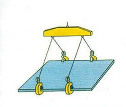 2,5 т твердых L Тип горизонтальные висит светильники для вождения Вешалки/крюк крана зажимы/блокировки зажимы