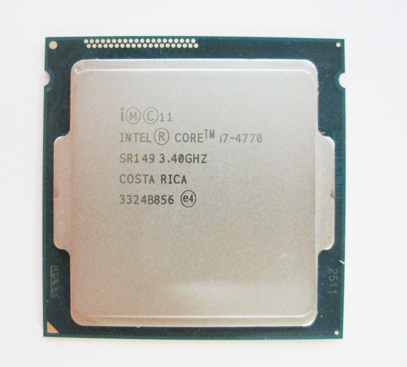 Intel Core i7 4770 3 4GHz 8M 5 0GT s LGA 1150 SR147 CPU Desktop Processor