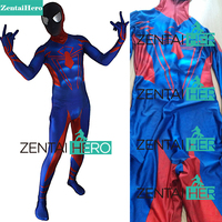 ZentaiHero 3D Printed Classic Ultimate Spider Man Costume Superhero Spiderman Cosplay Halloween Costume Spider Fancy Bodysuit