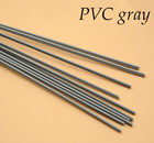 Free shipping 12pcs plastic welding rod PVC plastic floor welding rod automobile bumper plastic welding gray white 5mm