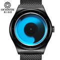 OCHSTIN Fashion Creative Men Watches Top Brand Luxury Steel Strap Waterproof Quartz Wrist Watch Male Clock montre homme