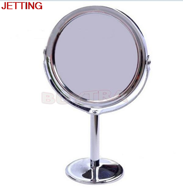 JETTING Trendy Magnification Circular Makeup Mirror Dual Side Round Shape  Stand Magnifier Mirror Cosmetic Vanity RotatingPopular Vanity Magnifying Mirror Buy Cheap Vanity Magnifying  . Mirror On A Stand Vanity. Home Design Ideas