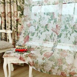Image 3 - Cortinas para telas terminadas, liquidación especial, sala de estar, dormitorio de lujo, jardín de estilo europeo