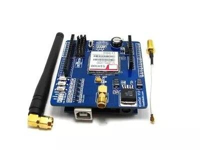 microcontroller sim900 module GSM SMS gprs module expansion board ICOMSAT send antennamicrocontroller sim900 module GSM SMS gprs module expansion board ICOMSAT send antenna