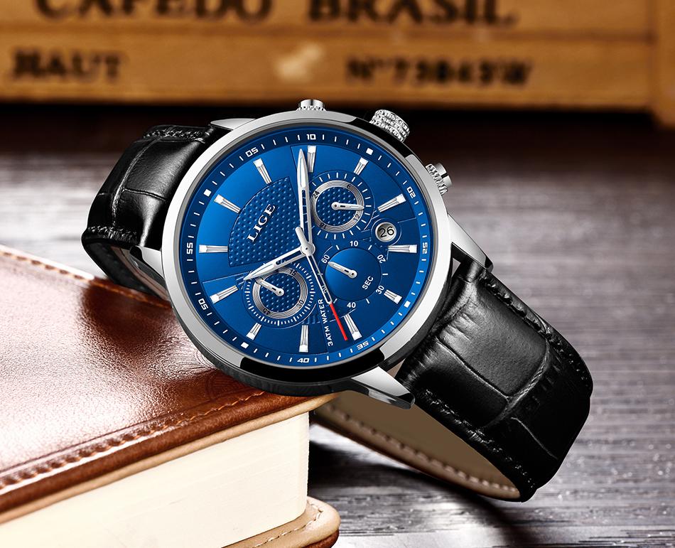 Reloj LIGE deportivo de moda 14