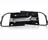 RQXR led drl daytime running light for Volkswagen tiguan 2013 with wireless control