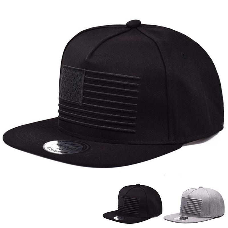 High Quality 3D Flag Embroidery Baseball Cap Mens Hip Hop Snapbacks Caps Ourdoor Cool Street Dance Hat Adjustable Cotton Hats