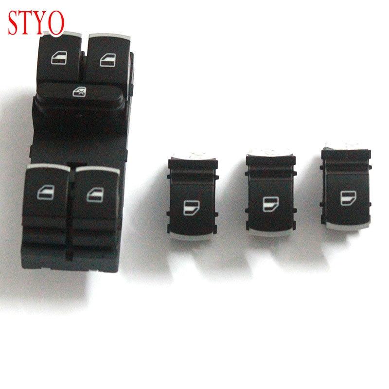 STYO 車のドアマスターパワーウインドウスイッチ Cuntrol Vw ティグアン Golf Jetta MK5 MK6 パサート B6 CC